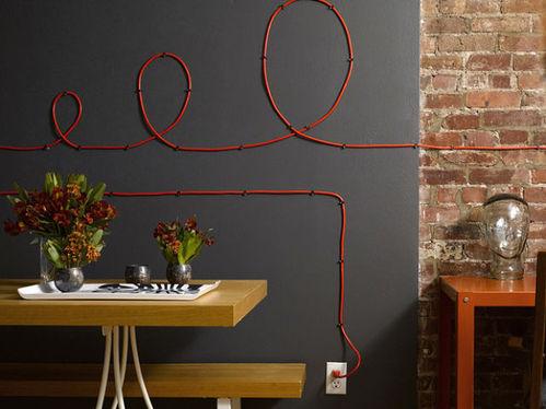 Cómo decorar la casa con cables