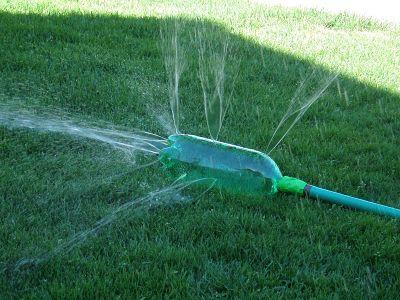 Cómo regar el jardín sin gastar dinero en aspersores