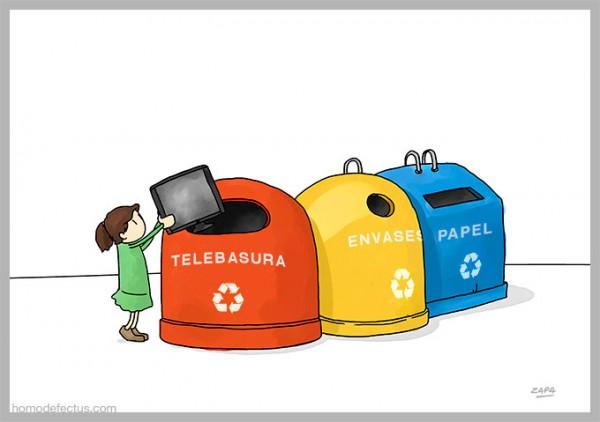 El nuevo contenedor de reciclaje