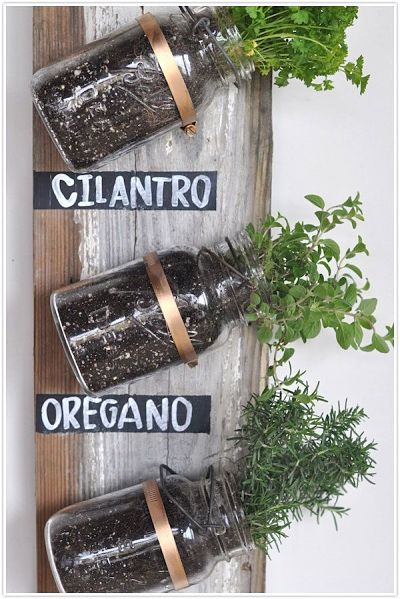 Ideas creativas para decorar con tarros de cristal