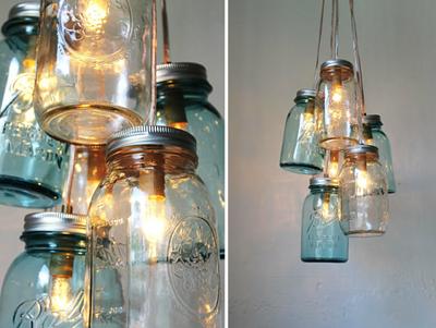 Ideas creativas para decorar con tarros