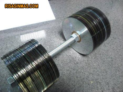 Una idea original de reciclar CD's