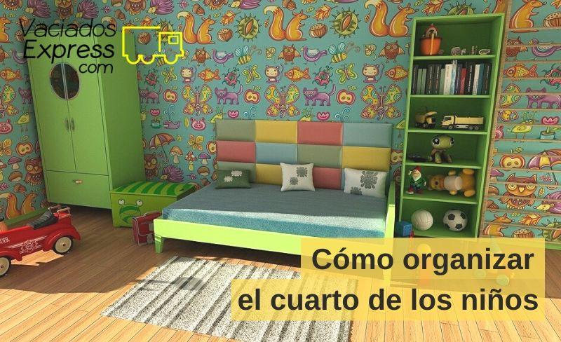 cómo organizar el cuarto de los niños