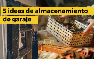 almacenamiento de garaje