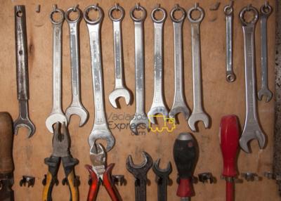 almacenamiento de herramientas